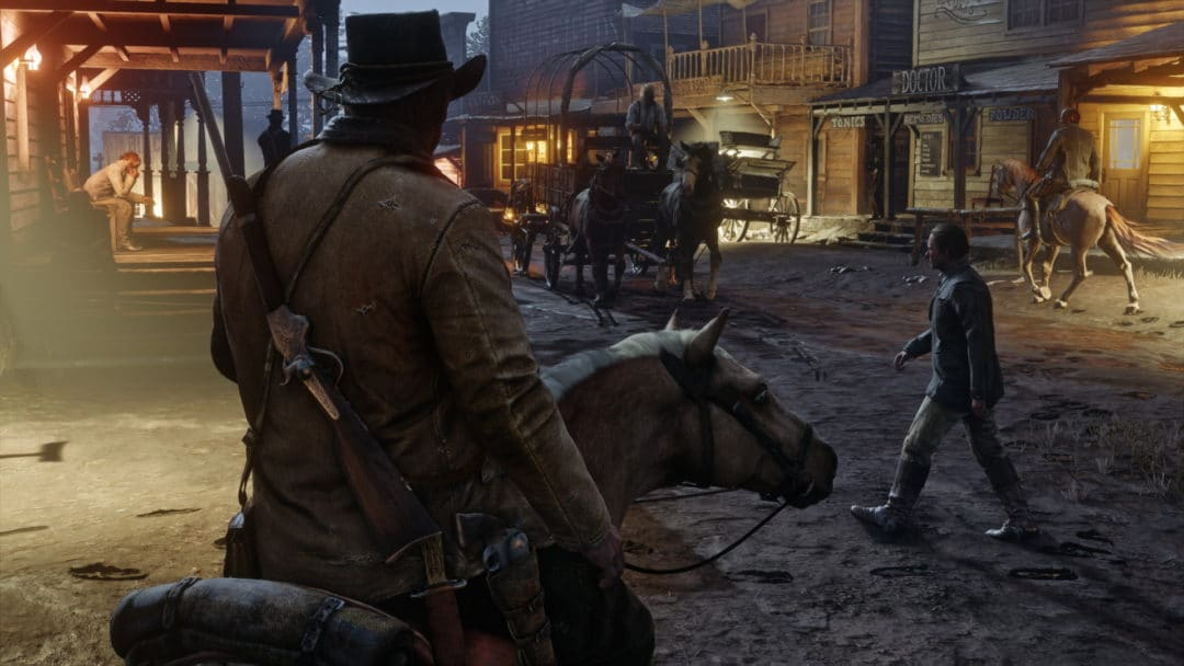 Red Dead Redemption 2 gameplay Leak-cover