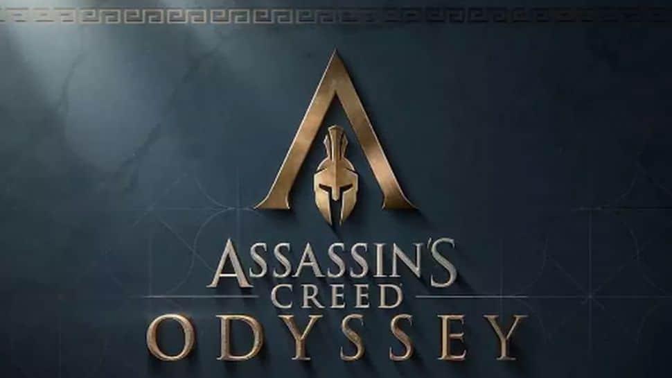 assassin's creed odyssey trailer logo