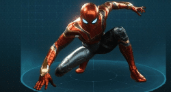 iron spider suit spiderman ps4