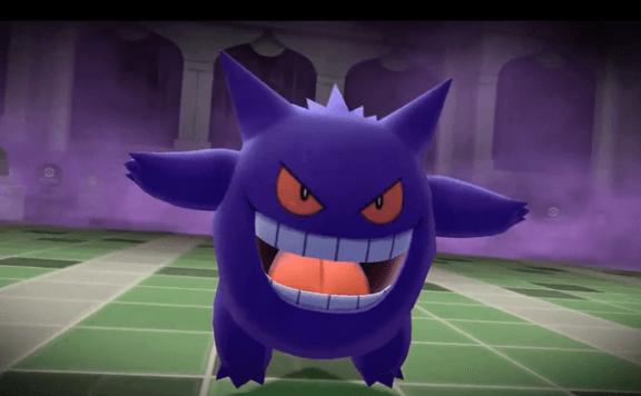 pokemon let's go lavender town - Gengar