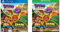 spyro reignited trilogy bundle plus crash