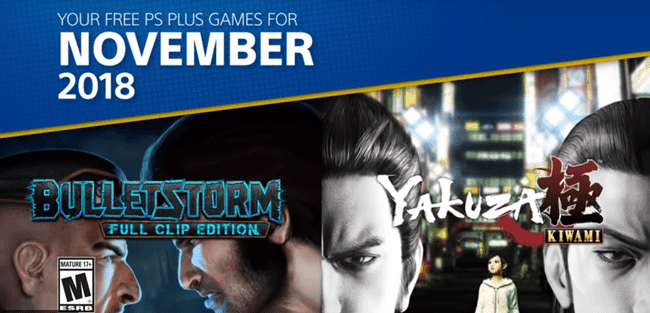 ps plus november 2018 games