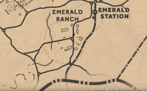 red dead redemption 2 fence map locations