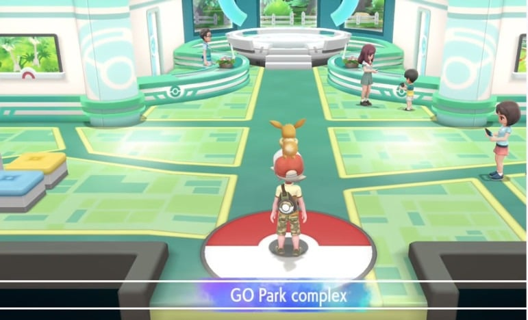 pokemon go transfer to let's go