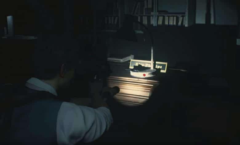 Resident Evil 2 Remake desk code