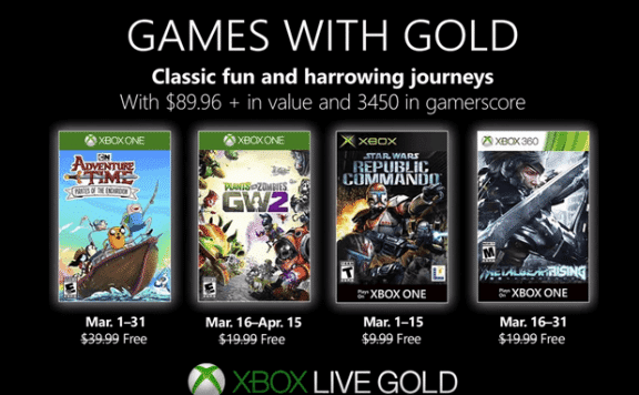 Xbox-Games-With-Gold-March-2019
