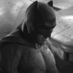 Batman in black and white