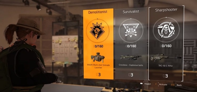 Division-2-specialisations-unlock-guide