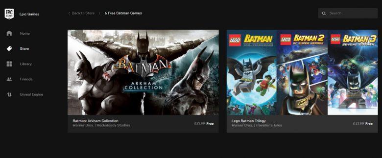 Epic-Store-free-games-batman