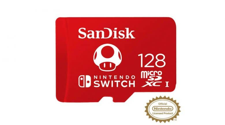 128gb sd card for switch