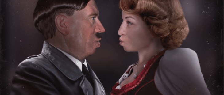 The player makes Hitler and Ava Kiss, Because Why Not