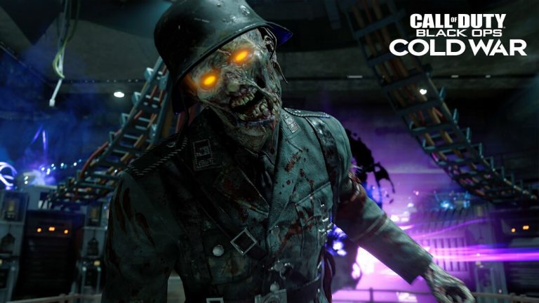 Call of Duty: Black Ops Cold War Zombie in army uniform
