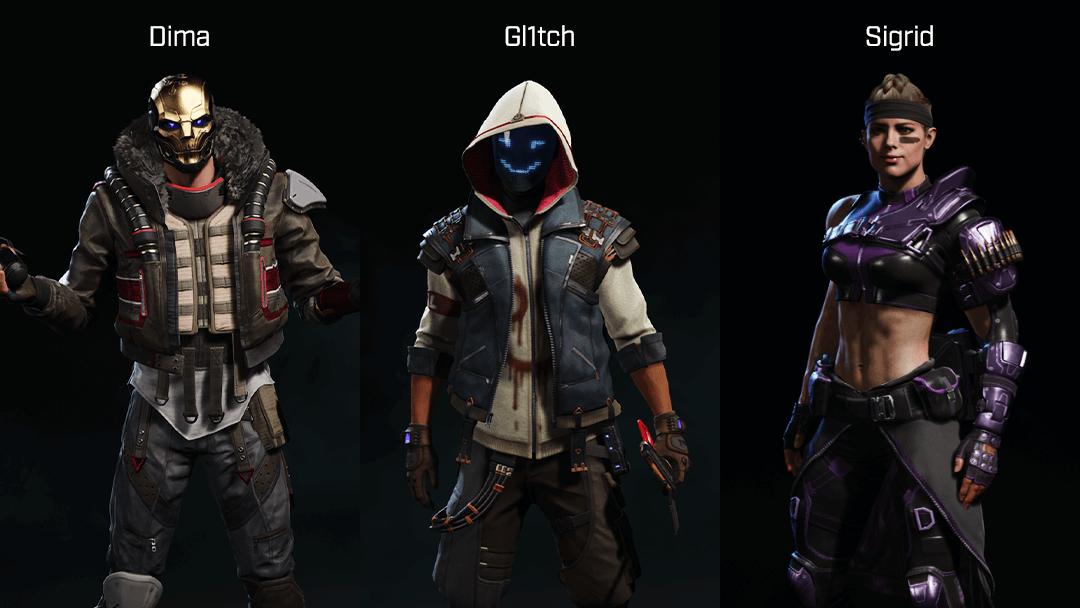 Rogue Company Breacher characters