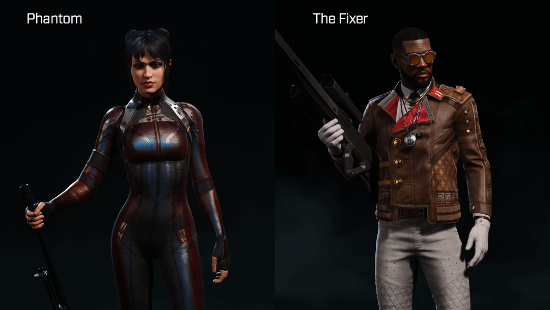 Rogue Company Sniper Phantom and The Fixercharacters