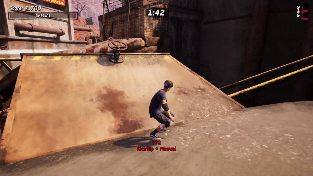 Valve 2 is to the left of the huge water hazard in Downhill Jam