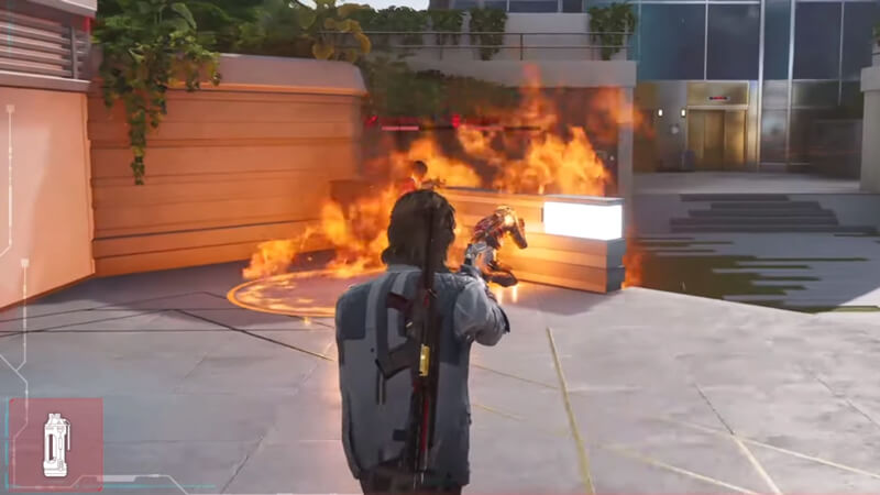 Rogue Company Incendiary grenade exploded