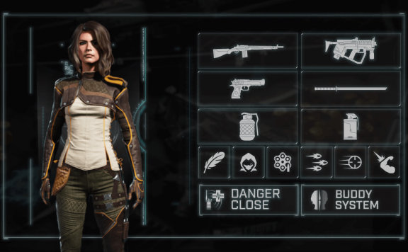 Rogue Company Dahlia and loadout